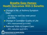 breathe easy homes health outcomes with benefits