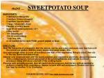 more sweetpotato soup