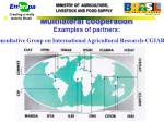 consultative group on international agricultural research cgiar