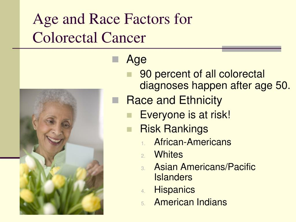Age and Race Factors for