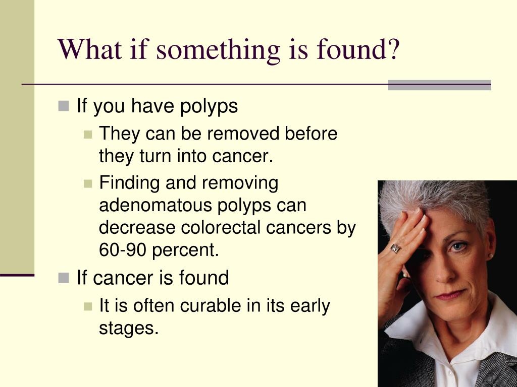 What if something is found?
