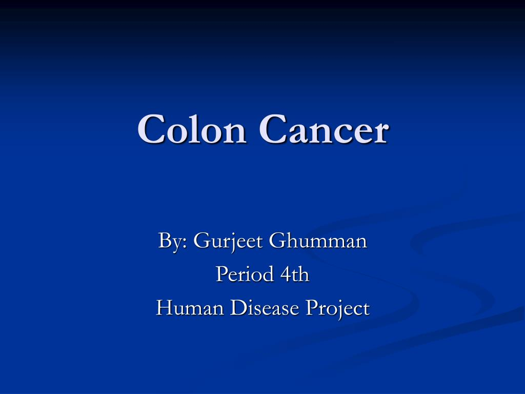 colon cancer l.