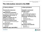 the information stored in the rdb13