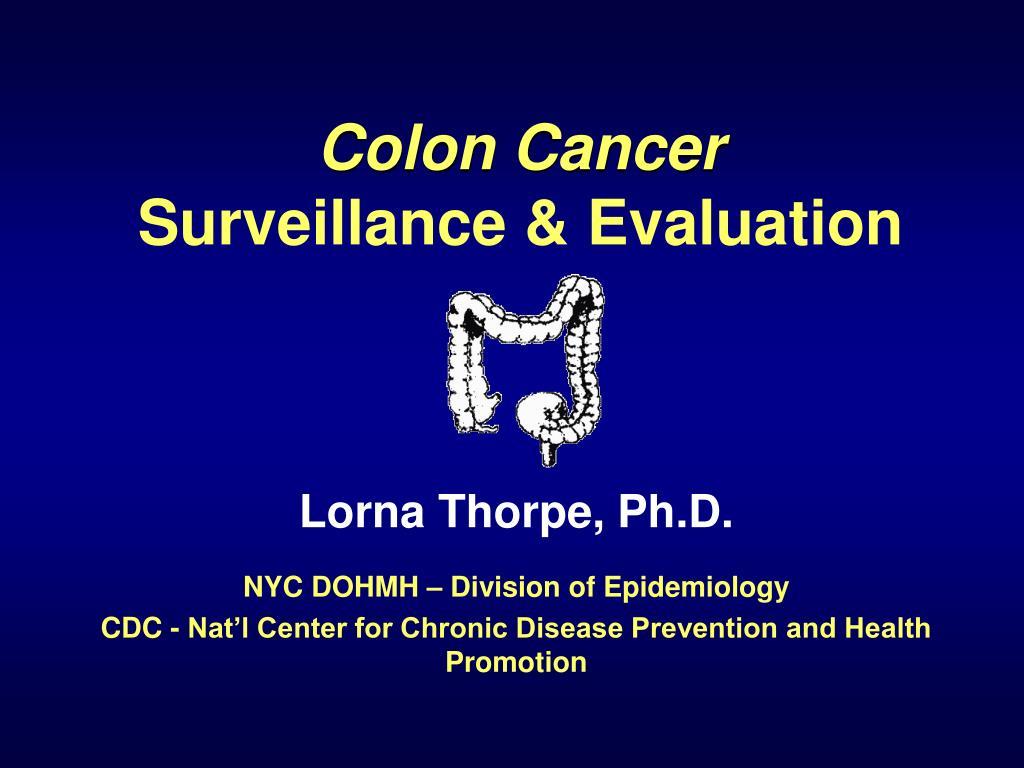 colon cancer surveillance evaluation l.