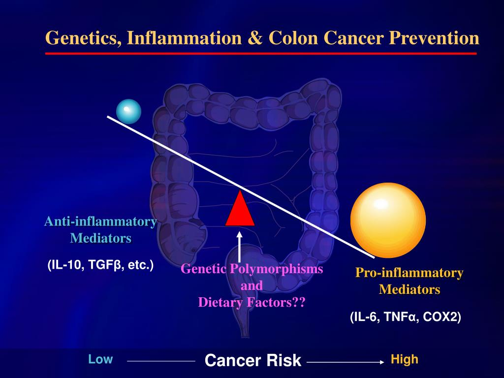 Genetics, Inflammation & Colon Cancer Prevention