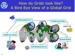 how do grids look like a bird eye view of a global grid10
