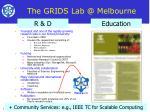 the grids lab @ melbourne