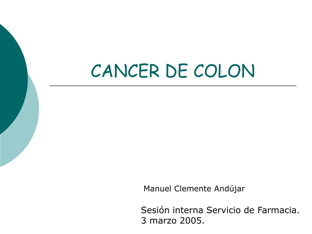 cancer de colon l.