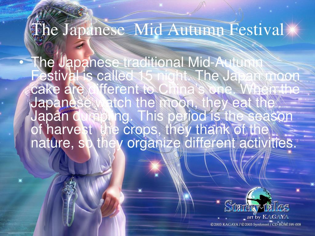The Japanese  Mid Autumn Festival