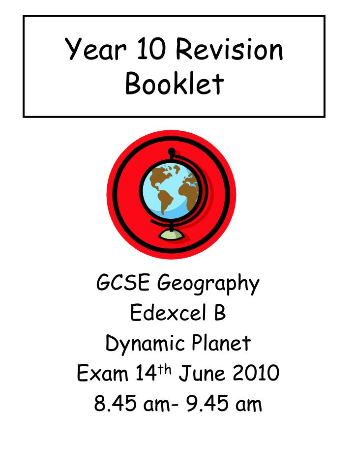 year 10 revision booklet n.
