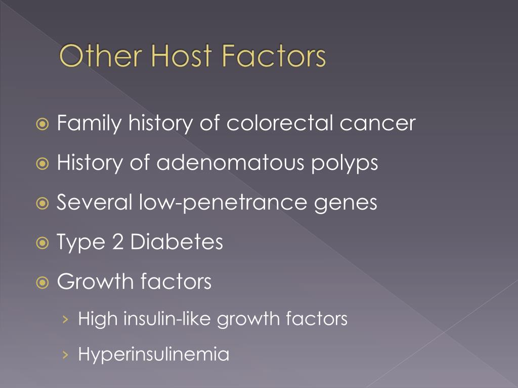 Family history of colorectal cancer