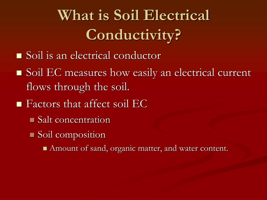What is Soil Electrical Conductivity?
