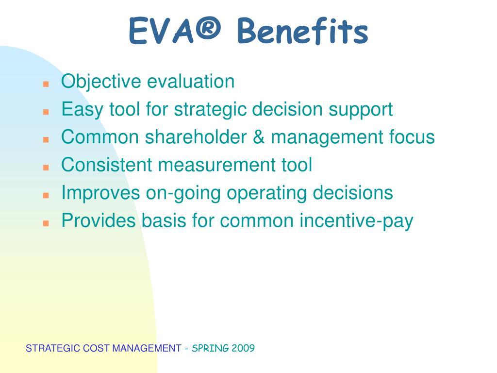 EVA® Benefits