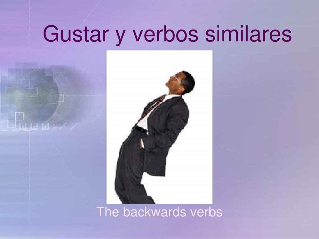 gustar y verbos similares l.
