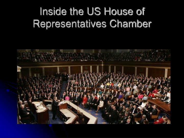 Inside the US House of Representatives Chamber
