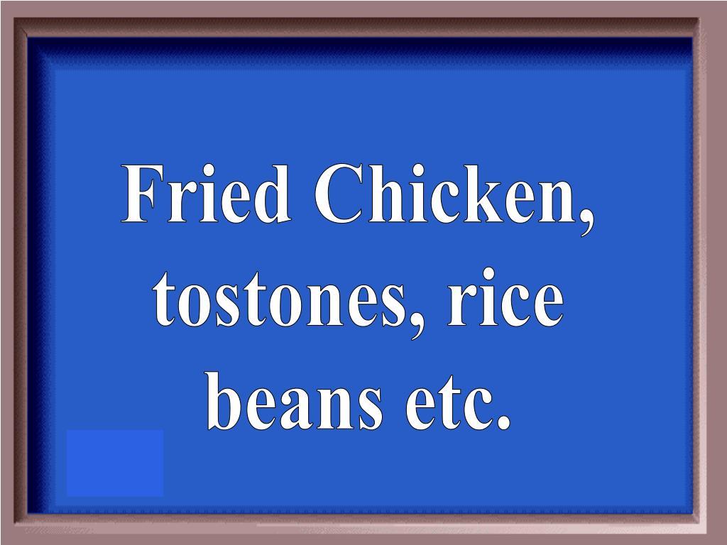Fried Chicken,