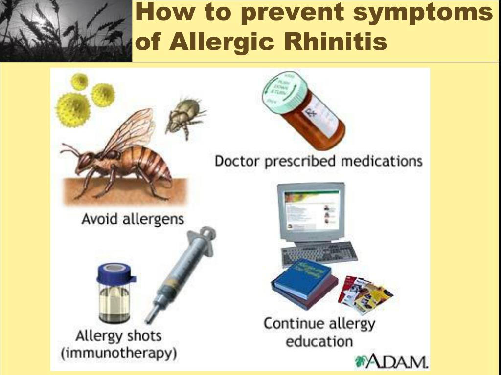 How to prevent symptoms of Allergic Rhinitis