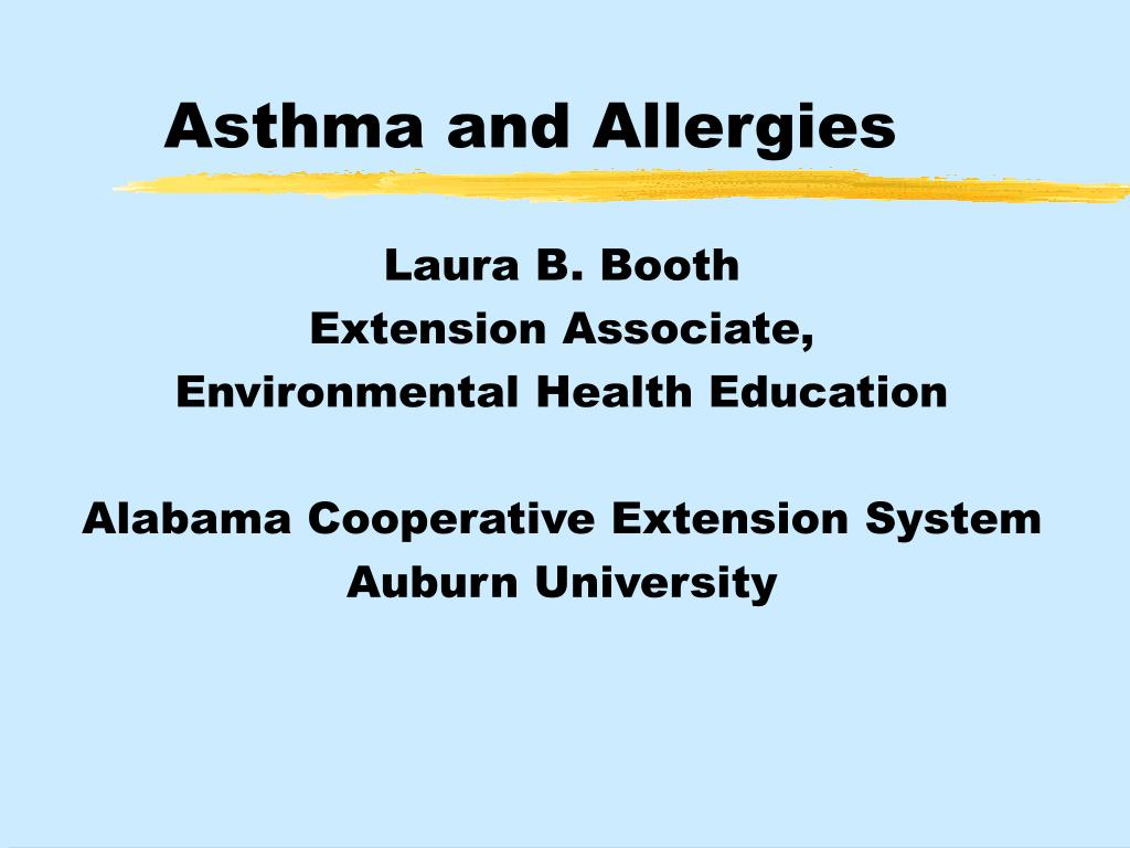 asthma and allergies l.