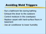 avoiding mold triggers34