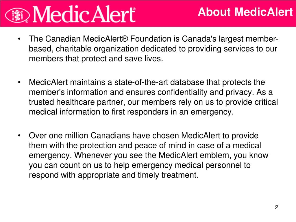 About MedicAlert