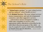 the school s role4