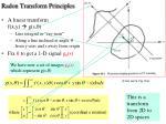 radon transform principles