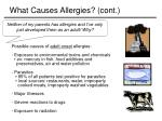 what causes allergies cont8