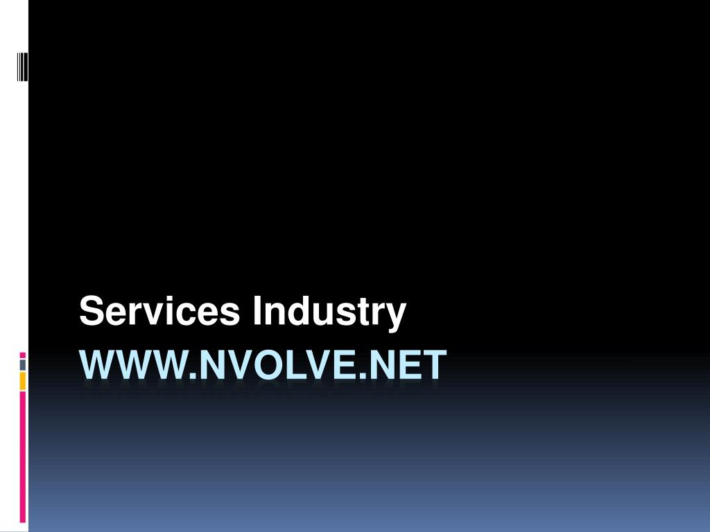 services industry l.