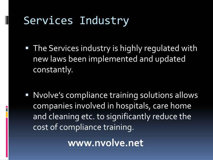 Services industry2