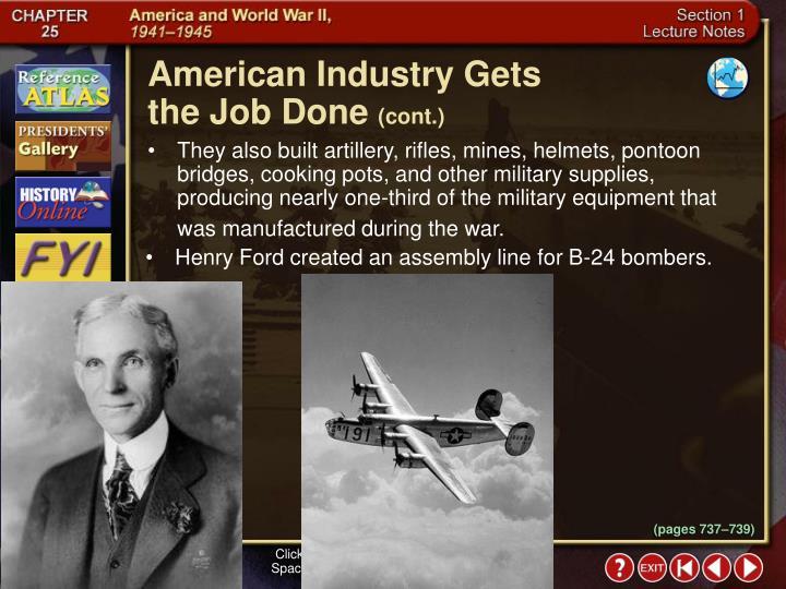 American Industry Gets