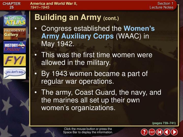 Building an Army