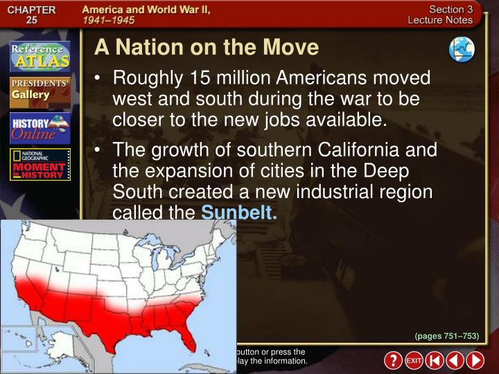 A Nation on the Move