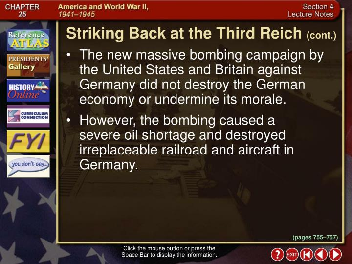 Striking Back at the Third Reich