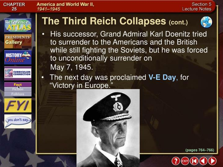 The Third Reich Collapses