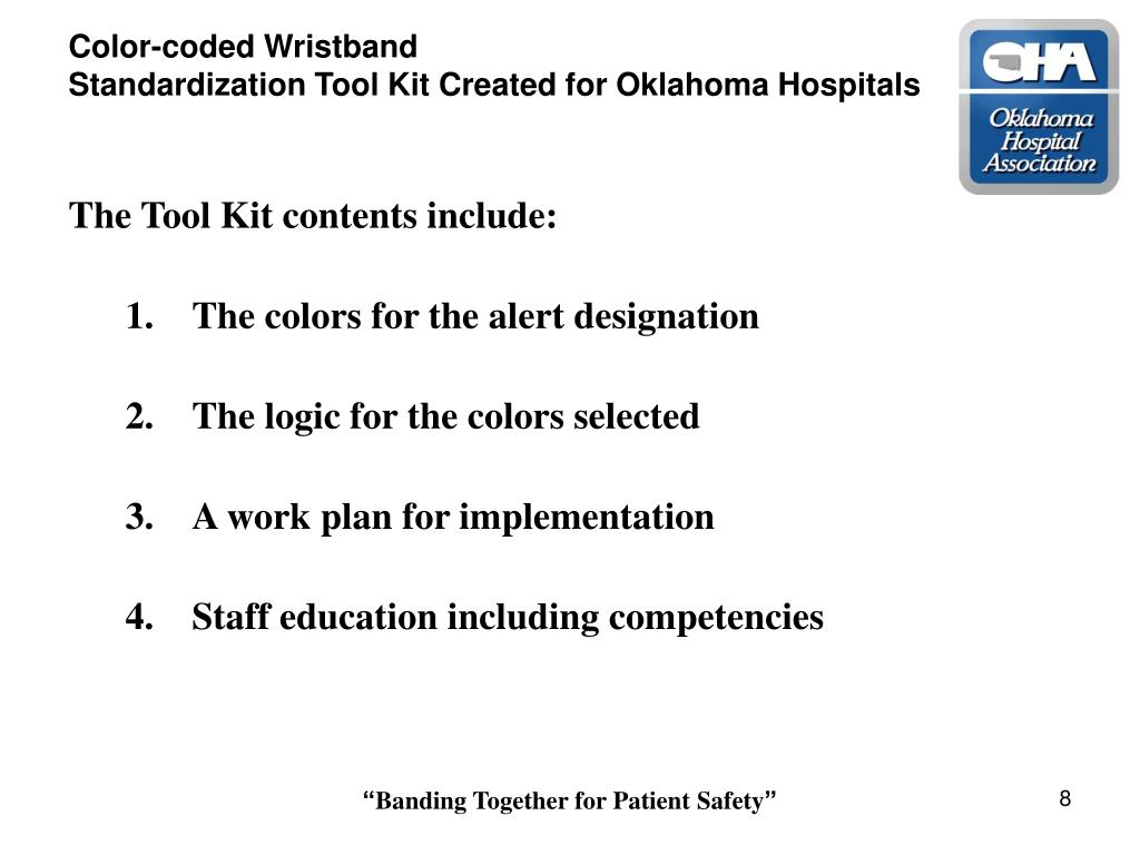 Color-coded Wristband