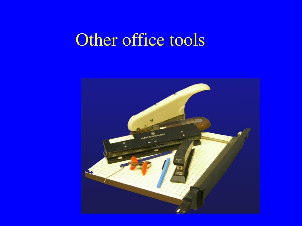 Other office tools