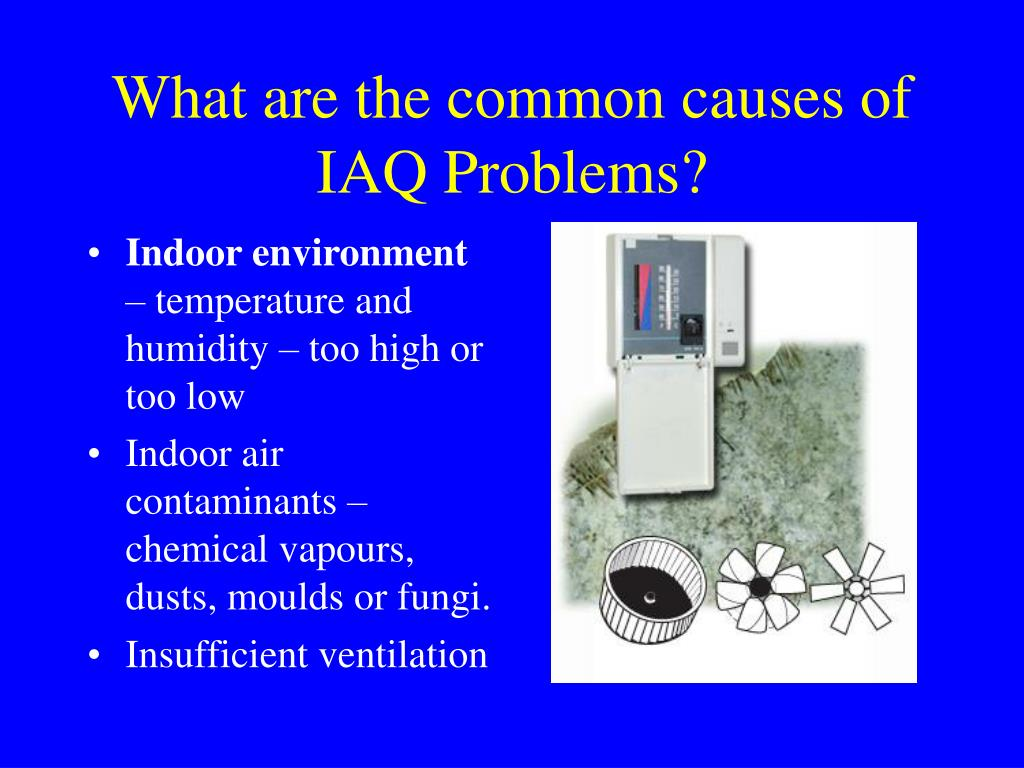 What are the common causes of IAQ Problems?