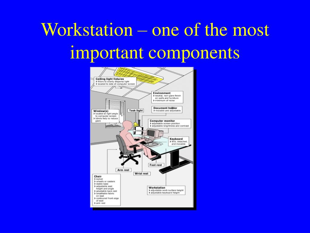 Workstation – one of the most important components