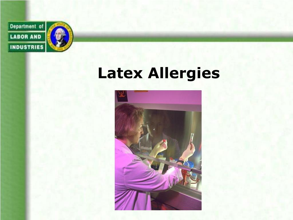 latex allergies l.