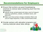 recommendations for employers26