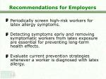recommendations for employers27