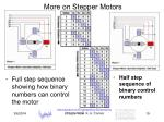 more on stepper motors19