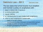 sabrina s law bill 3 click here to view