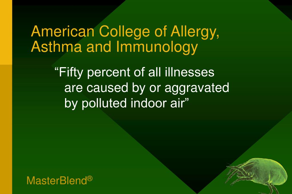 American College of Allergy, Asthma and Immunology