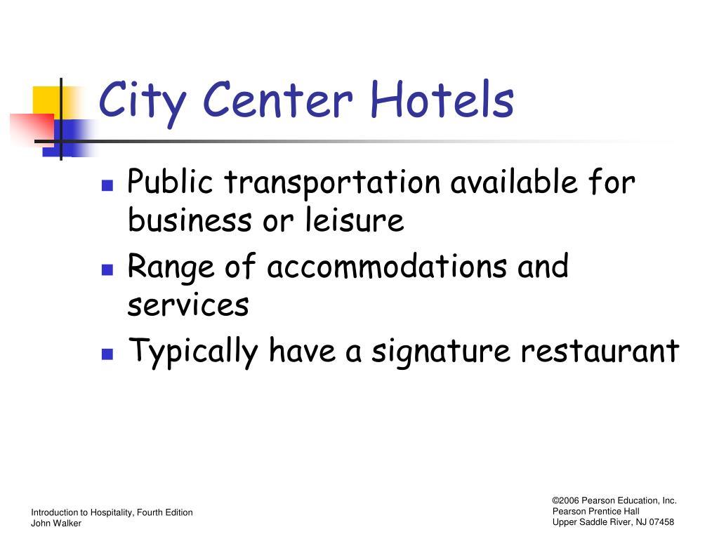 City Center Hotels