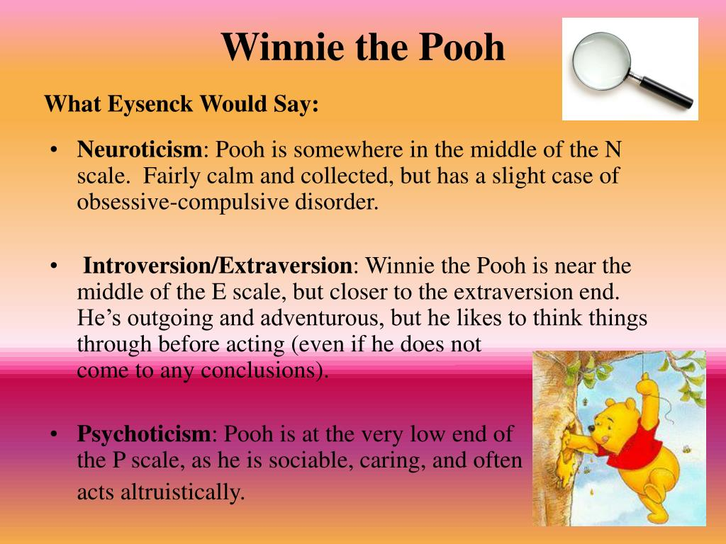 Winnie the pooh psychoanalysis and sexuality