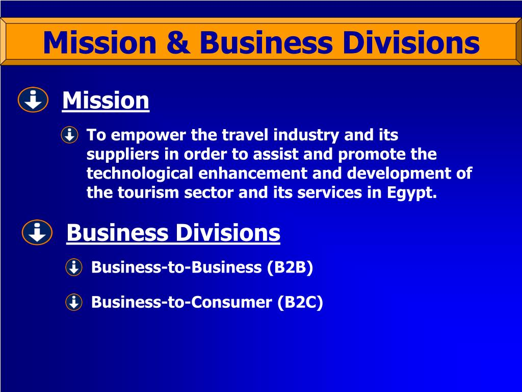 Business Divisions