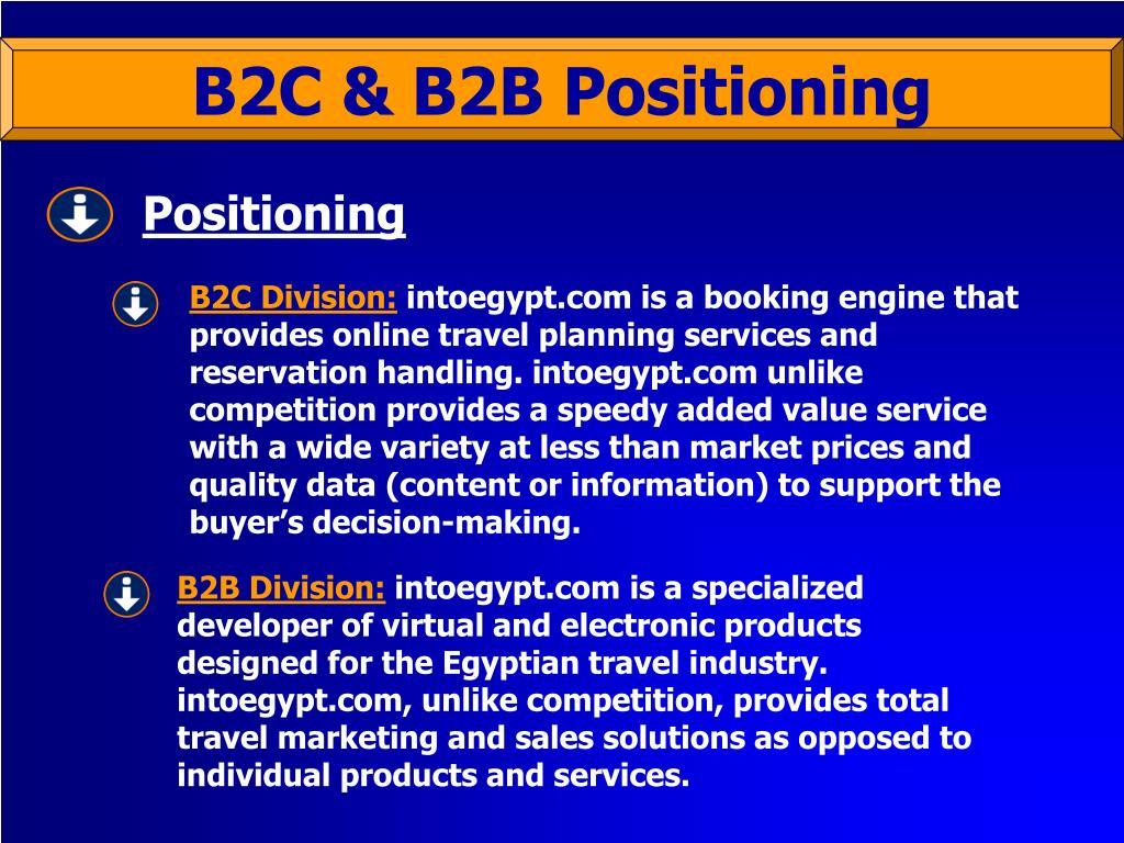 B2C Division: