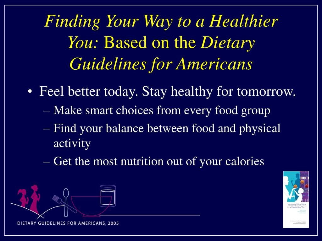 Finding Your Way to a Healthier You: