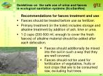 guidelines on the safe use of urine and faeces in ecological sanitation systems ecosanres18